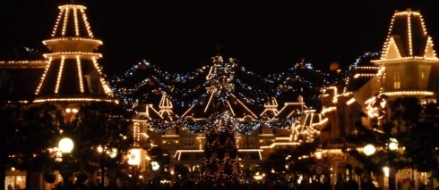 Main Street, Disneyland @ Night
